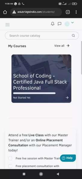 Java full stack developer