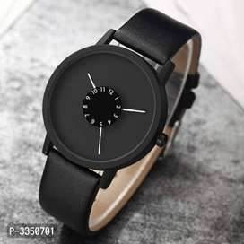 Synthetic Leather Watches For Men