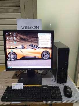 Paket PC UNBK HP core i5 ram 8gb hdd 1TB DVD RW LCD 19 WIFI second