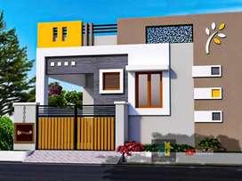 2 bhk House near wallfort City Bhatagaon