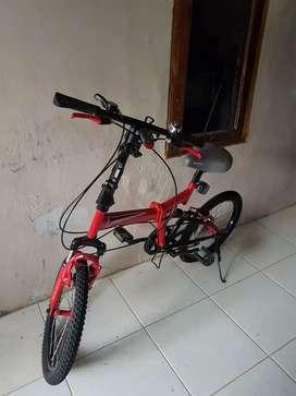 Jual sepeda lipat kondisi msh oke 850rb nego
