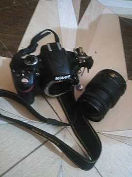 Nikon 3200 DSLR camera