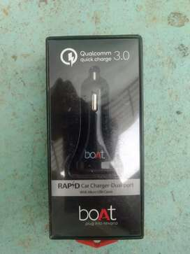 Car Charger( Boat/ Qualcomm 3.0 quick charger)