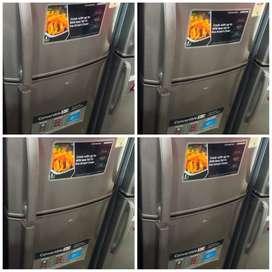 with 5 year warranty SAMSUNG 250 liter double door fridge with deliver