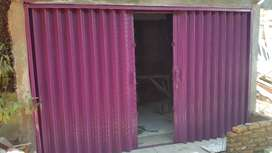 Folding gate rolling door Harmonika terbaik
