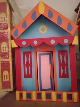 Rumah Barbie, dr kayu