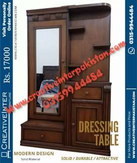 Dressing table bestseller center table iron stand cupboard bed