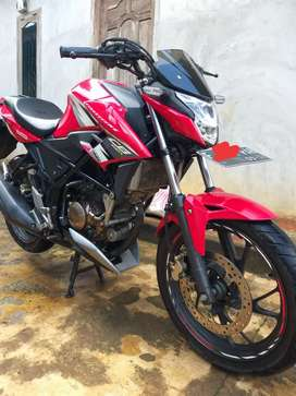 All New Cb150r Racing Red