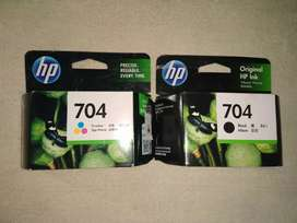 Tinta Printer HP 704 Hitam atau Warna