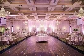 We are dealing with all kinds of indoor and outdoor events.