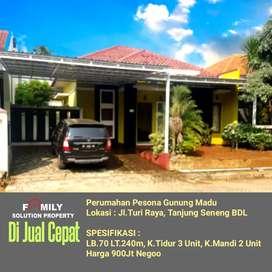 Rumah Siap Huni Komplek Mewah Tanjung Seneng