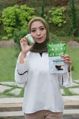 Masker Spirulina Premium isi 50 capsules