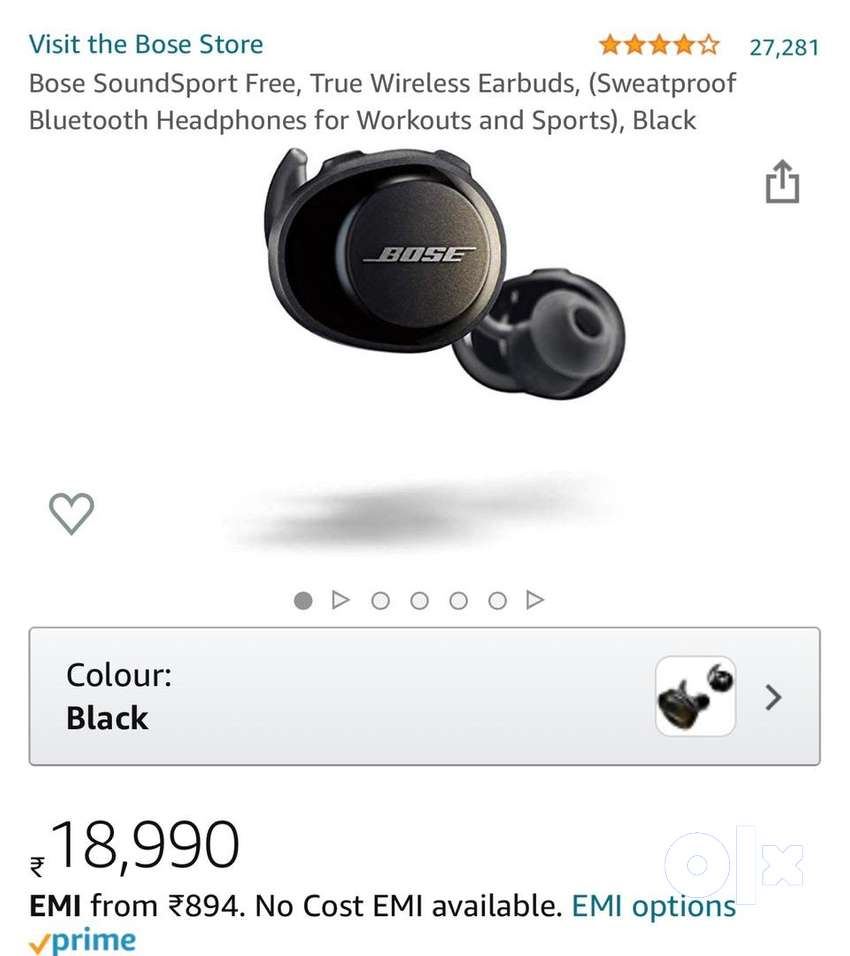 Bose SoundSport Free (box packed)