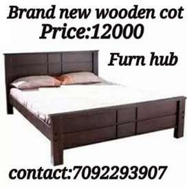 Brand new wooden cot from direct manufacturers