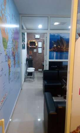 250sq feet furnished feet office for rent sector 34 a chd