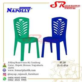 Kursi plastik napolly 209 awet kuat kokoh murah area jogja (est)