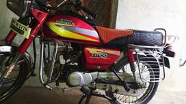 Cd 100 bike for sale good condition