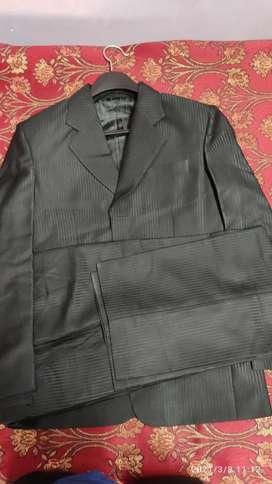 Black color Formal suit