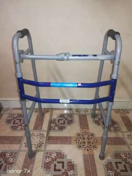 Foldable walker for patients and old person