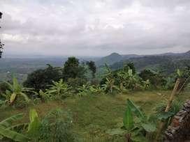 Lahan view aduhai cocok untuk resort dan coffee shop kekinian termurah