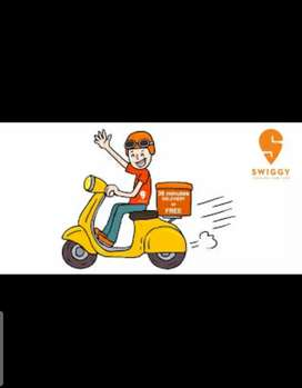 Immediate looking delivery boys for Swiggy
