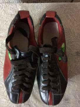 Skets leather shoe