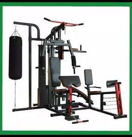 Bisa cod Home gym 4 sisi dengan legs press alat fitnes gym