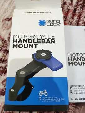 Quad Lock Motorcycle Handlebar Mount Universal