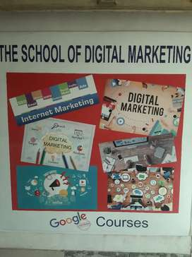 Digital marketing course for 12th pass nd graduate also