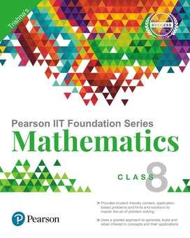 Pearson math book class 8 fully new