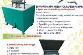 Eyelet machine..dual eyelet manual system