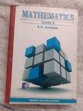 R.D.SHARMA CLASS 10TH best condition