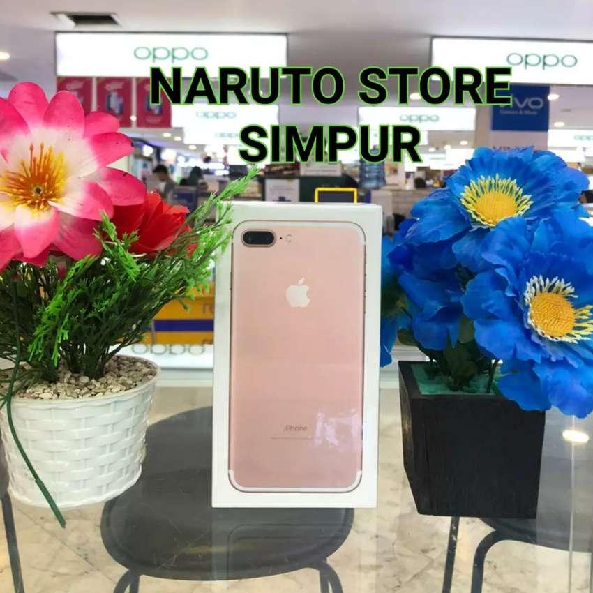 Jual IPHONE 7+128GB Rose Laris manis di NARUTO STORE SIMPUR Lampung 0
