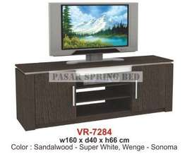 FrOkir Meja Tv Rak Tv Minimalis Lemari Bufet Buffet Pendek TV VR 7284