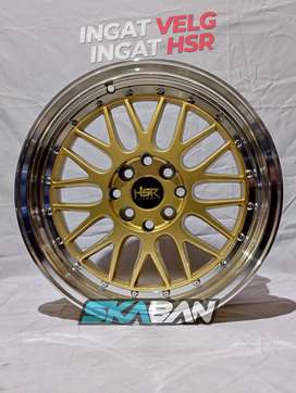 hsr wheel lemans ring 16x7 utk mobil datsun,march,sirion,corolla