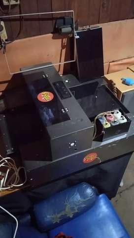Jual paket usaha Kaos DTG. Printer DTG basic mesin Epson L1800.
