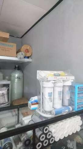 Mesin RO air minum filter air siap minum top rumah tangga