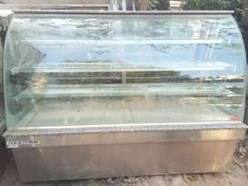 Display counter Hotcase 6ft available