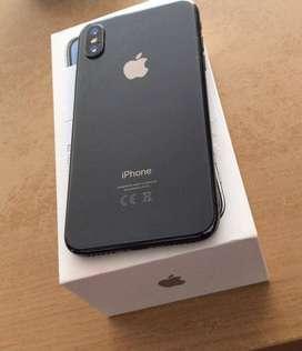 Iphone X 256GB Grey Second Ex inter Original TerJamin Cash/TT Bisa