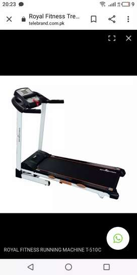 New Box Pack Royal Fitness Machine 120 Kg Weight Support