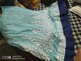 Lehnga unstitched