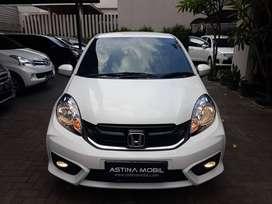 PROMO TDP 15 Honda Brio Satya 1.2 E MT-Manual 2018 Putih ASTINA MOBIL