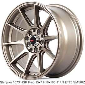 SHINJUKU 1073 HSR R15X7 H10X100-114,3 ET25 SMBRZ