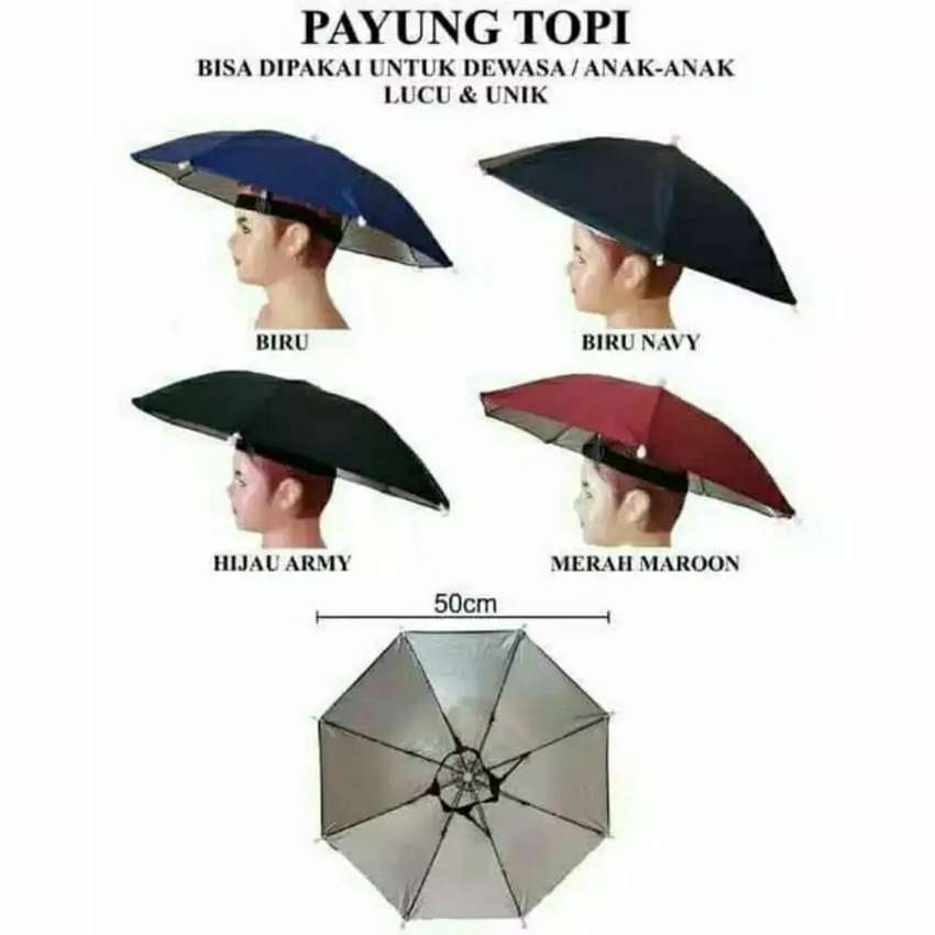 HS topi payung mini outdoor pancing sepeda dll