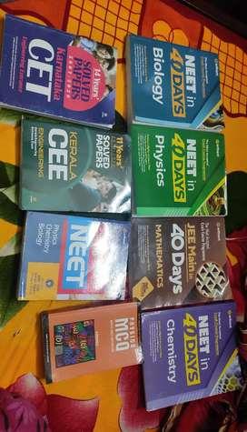 Books for NEET JEE KEEM KCET