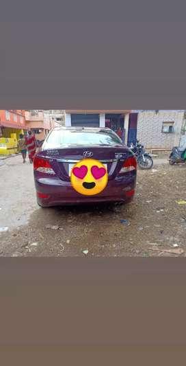 Hyundai verna 1.6sx well maintained disel car