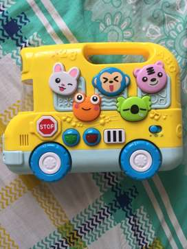 kids musical toy bus