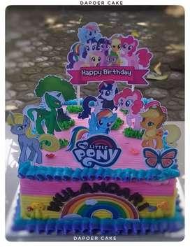 Kue ulang tahun nyoklat