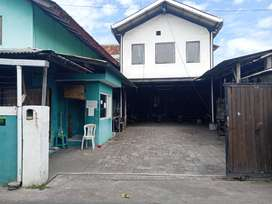 Over kontrak gudang bekas pabrik garment Jalan imam bonjol Denpasar