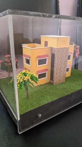 Showpiece BUNGLOW Miniature MODEL